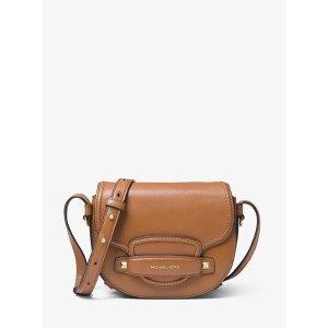 bd05e64fab13 Michael KorsCary Small Leather Saddle Bag. $96.75 $258.00. Michael Kors Cary  ...