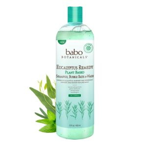 NEW! 3 in 1 Eucalyptus Remedy™ Plant Based Shampoo, Bubble Bath and Wash
