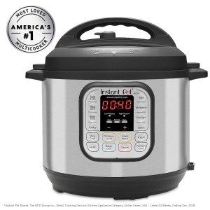 $69.99(原价$99.95) 销量冠军Instant Pot DUO80 七合一多功能电压力锅 8夸脱