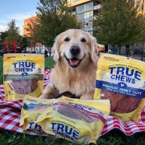 低至7折+首单额外6.5折True Chews 天然肉制宠物零食促销