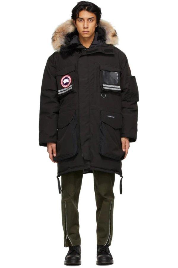 Black Down Snow 外套