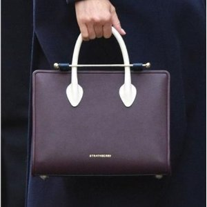 675Strathberry Midi Tote in Burgundy Navy Vanilla is now available again  for Pre a59de6079276e