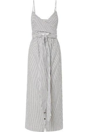 Mara Hoffman Thora striped organic cotton midi dress