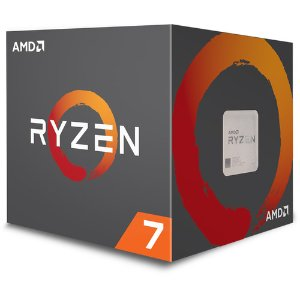 AMD Ryzen 7 2700 8核 AM4 处理器 带Wraith散热器
