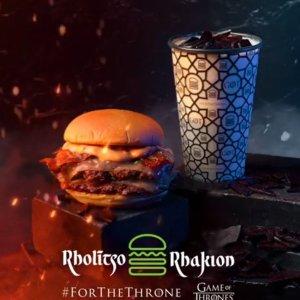 权力的游戏迷看过来上新:Shake Shack 《权力的游戏》主题限定汉堡