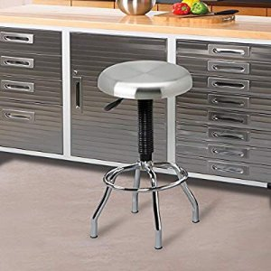 $39.77Seville Classics Stainless Steel Top Work Stool