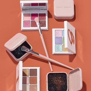 购2盘立减$5上新:Fenty Beauty 彩妆产品热卖 收6色眼盘