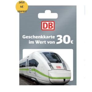 直接8.6折 €26收€30代金券 可叠用!DB 火车票这里买!五年有效期 打上疫苗 开开心心出去玩~