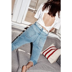 Current/ElliottThe Vintage Cropped Slim Jean