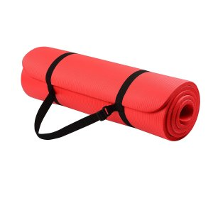 $13.93Everyday Essentials 1/2-Inch Extra Thick High Density Anti-Tear Exercise Yoga Mat with Carrying Strap