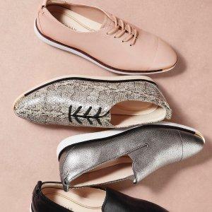 低至4折Cole Haan 精选舒适美鞋热卖 黑尾小白鞋$91