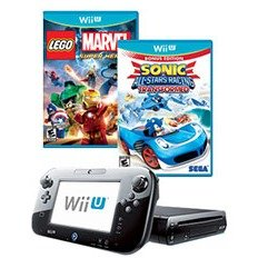 $159Nintendo Wii U 32GB + 2 Games Refurbished