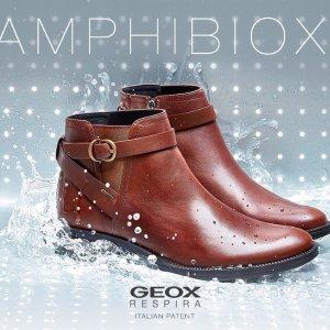 再降 低至5折+包邮GEOX官网 防水透气 会呼吸的鞋子,适合多雨秋冬,多州免税