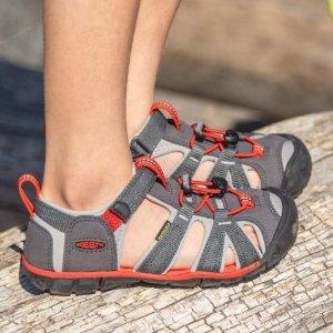 $22.98起 结实耐造KEEN官网 童鞋额外7.5折热卖,舒适户外鞋专业品牌