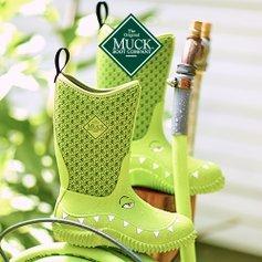 低至5折Muck 儿童雨靴、雨鞋特卖 宝宝的小脚丫不再凉凉的