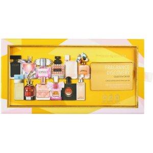 含正装香水兑换券12迷你香水礼盒