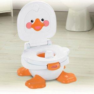 $39.99Fisher-Price Ducky 阔耐小鸭纸宝宝训练马桶 带音乐三合一