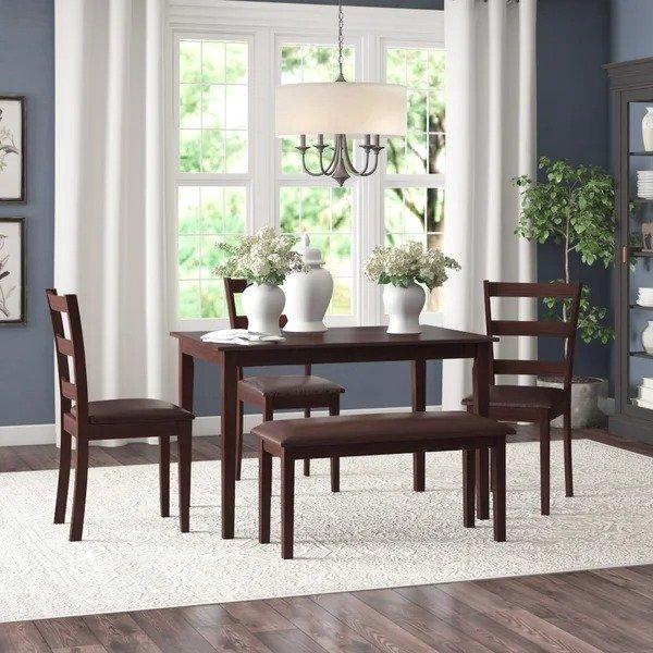 Red Barrel Studio® 餐桌餐椅5件套