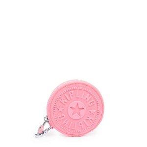 Kipling buy 2 get 22% off, buy 3 get 33% off Zip Pouch - Conversation Heart Tonal Zipper