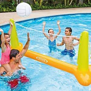 €13.99 原价€23.89Prime Day 狂欢价:Intex 水上 充气水球游戏 排球网 239 x 64 x 91 厘米