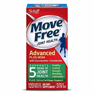 $16.62 Free ShippingMove Free Joint Health Supplement Tablets, (120 count in a bottle)
