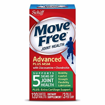 $15.18 Free ShippingMove Free Joint Health Supplement Tablets, (120 count in a bottle)
