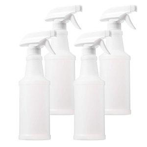 Paxonuly 多用途喷雾瓶  16 oz 4个装 家居清洁必备