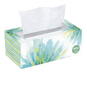 Kleenex Soothing Lotion Facial Tissues, 110 Count