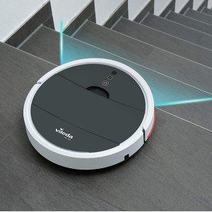 仅售€124.26 专业室内清洁Vileda 德国微力达 扫地机器人 大吸口大容量 超静音模式