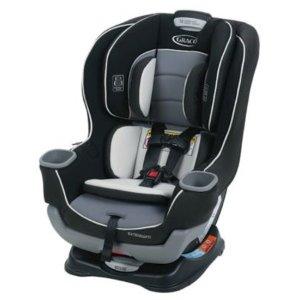 $127.99 (原价$199.99)Graco Extend2Fit 双向儿童汽车安全座, Gotham 色