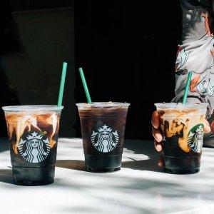 近期好价$20.79 每壶仅$3.47Starbucks 冷萃无糖黑咖啡,多人共享装,可装满6大咖啡壶