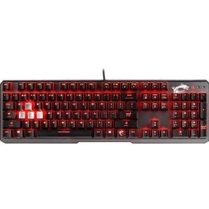 $74.99 (原价$109.99)MSI Vigor GK60 MX红轴 红色背光 机械键盘