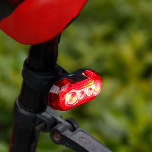 $15.29(原价$35.98)Lighting EVER  3W USB  可充电LED自行车灯