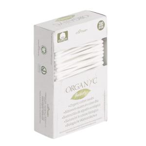 平均仅€0.04/根Organyc 多用途双头棉棒 200根装 100%全棉