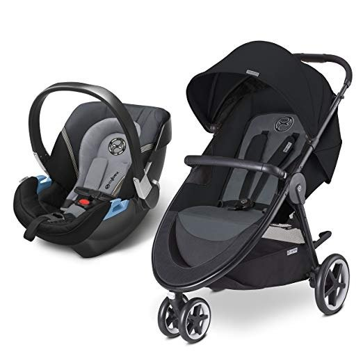 CYBEX Agis M-Air 3合1旅行套装,童车+汽车安全座椅