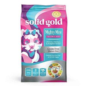 $19.97(原价$33.29)闪购:Solid Gold 鸡肉味小型犬狗粮 11lb