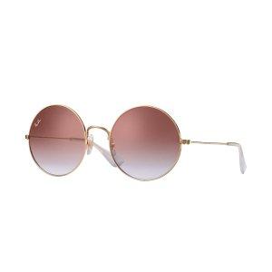 Ray-Ban粉色圆框墨镜