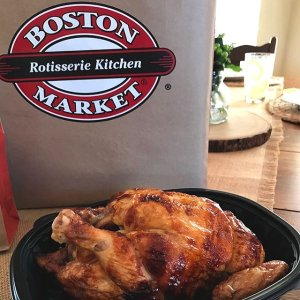 Free Whole Rotisserie ChickenBoston Market Family Meal Special