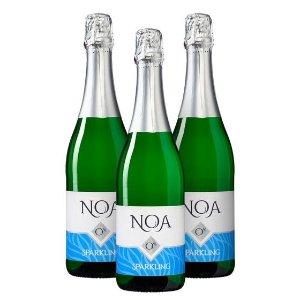 8折 €23.99收3瓶装NOA 无酒精起泡酒热卖 最美妙的无酒精起泡酒 千杯不醉哦