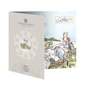 The Royal Mint现货小熊维尼和朋友们彩色纪念币