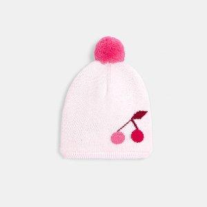 JacadiBaby girl cherry print hat