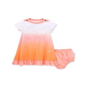 Burt's Bees Baby女婴幼童有机棉连衣裙