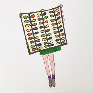$24.99(原价$61)王妃最爱Orla Kiely 帆布花盆 永恒缤纷的色彩