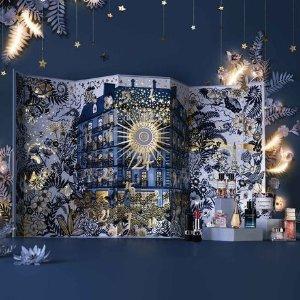 最高送7件好礼+免邮独家:Dior 美妆香氛热卖 限定圣诞日历套、典藏香水套开售