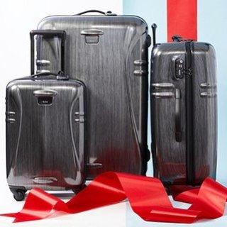 低至3折闪购:Hautelook精选 TUMI 高端行李箱及旅行配件一日闪购
