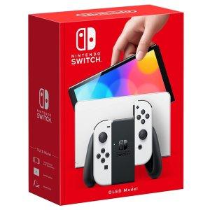 澳亚首发售价$539,黑白双色重磅:Nintendo Switch 全新OLED机型预购