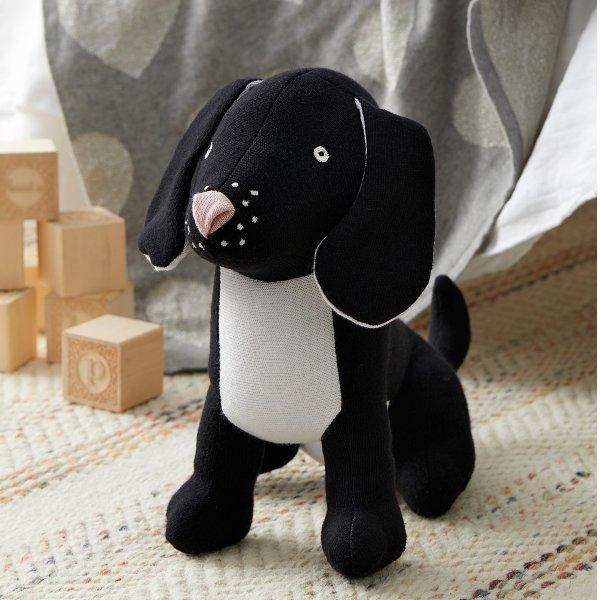 纯棉表层小黑狗