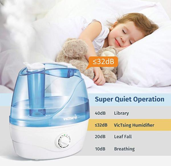 超声冷雾加湿器,婴幼儿适用