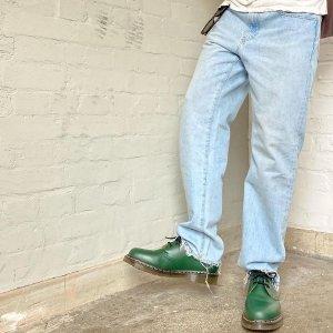低至3折 冬日穿搭的点睛之笔Dr Martens 百搭潮靴再降价 封面款祖母绿牛津鞋$170