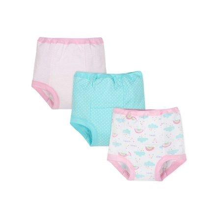 幼儿有机棉训练内裤3条